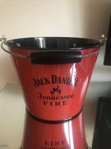 OFFICIAL JACK DANIELS METAL FIRE ICE BUCKET