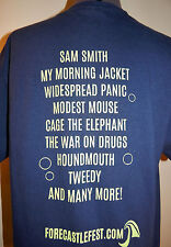 Widespread Panic Forecastle Festival T-shirt Music Concert Shirt L
