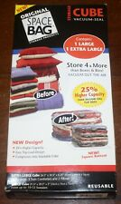 Space Bag Extra-Large 26x39x6 & Large 21x29x5 - New - Ships Free!