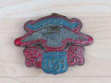Harley Davidson Belt Buckle, Red/Blue Color,Nice item for Harley Enthusiast RARE
