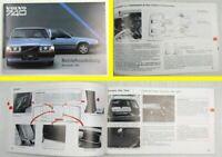 Volvo 740 Modelljahr 1987 Betriebsanleitung Bedienungsanleitung Wartung Pflege