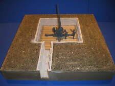 TSD-35053 1/35 Flakstand 7x7m + Versorgungsgraben erdeingelassen