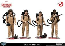 Stranger Things Ghostbusters Deluxe Action Figures - Set of 4 McFarlane Toys