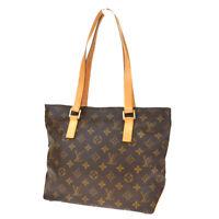 Auth LOUIS VUITTON Cabas Piano Shoulder Bag Monogram Leather BN M51148 11MD723