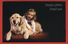 2 Postal Cards uncirculated - Dog & Young Girl + Pet Trust: University of Guelph