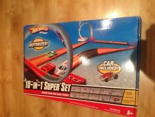 HOT WHEELS 10 in 1 Track Set 2 X motorizzato Power Booster