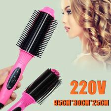 2 in (environ 5.08 cm) 1 électrique Céramique Lisseur Cheveux Curler Brush Comb Curling Salon Style