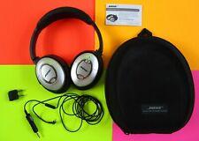 EUC Bose QuietComfort 15 w/ CASE QC15 Noise Cancelling Headphones Headset