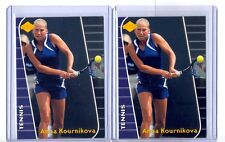 (2) 2000 Collector's Edge Women #AK3 Anna Kournikova Tennis LOT