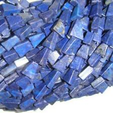 Lapis Lazuli Triangle Beads 7x12mm Blue 30+ Pcs Dyed  Handcut Gemstones Crafts