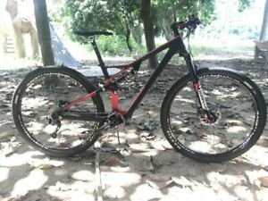 Carbon Suspension Bicycle 29er Mountain Bike Carbon Complete Suspension Bike