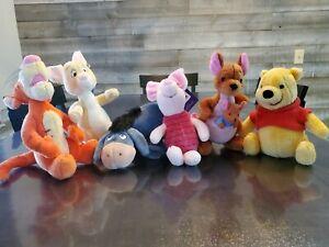 Winnie the Pooh Classic GUND Disney Plush 100 Acre Collection