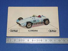 CHROMO 1950-1959 CHOCOLAT CEMOI DECOUPAGE AUTOMOBILE AUTO GORDINI FORMULE 1 F1