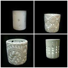 Unbranded Porcelain Flower Candle & Tea Light Holders