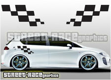 Seat side 017 squares graphics stickers decals Leon Ibiza Cupra FR Sport