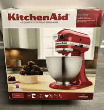 KitchenAid Artisan Series 5 Quart Tilt-Head Stand Mixer - Empire Red- Pre Owned
