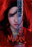 MULAN TEXTLESS DISNEY MOVIE POSTER FILM A4 A3 ART PRINT CINEMA