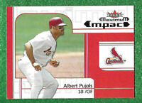 2002 (CARDINALS) Fleer MPAC #251 Albert Pujols   AS SHOWN