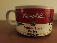 Campbell's Soup 1998 Us Figure Skating Souper Stars On Ice Mug Bowl