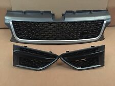 Range Rover Sport Autobiography Style Front Grill Grille Vents GreyBlack 2010-13