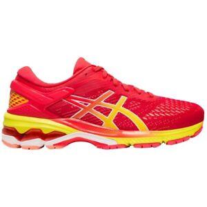 Asics Gel Kayano 26 Ladies Running Trainers UK 8 Laser Pink / Sour Yuzo BNIB