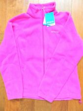 NEW WITH TAGS COLUMBIA WOMENS BENTON SPRINGS FULL ZIP FLEECE JACKET-WL6439-530 L