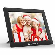 "Digital Photo Frame, 8"" Wide Screen  Picture/Music/Video Frame USB SD/MMC, Clock"