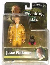 "Breaking Bad Jesse Pinkman 6"" Hazmat Suit 2014 Mezco Diamond Select Gas Mask"