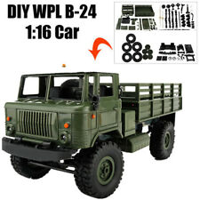 WPL B-24 1:16 4WD 4-Channels DIY Assemble Kit Military Truck RC Crawler Car Toy