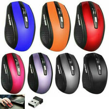 2.4GHz Wireless Optical Mouse Mice & USB Receiver 2000DPI For PC Laptop Computer