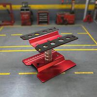 Für TRAXXAS TRX4 SCX10 D90 1/10 RC Auto Rotation Reparaturstation Ständer Metall