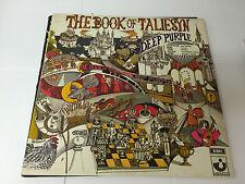 DEEP PURPLE The Book Of Taliesyn Vinyl LP Harvest SHVL 751 A4/B3 EX-/VG NON GF