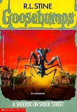 A Shocker on Shock Street (Goosebumps) by R. L. Stine, Good Book