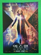 X Men Dark Phoenix 2019 Korean Mini Movie Posters Movie Flyers Jeondangi
