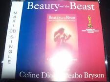 Céline Dion & Peabo Bryson – Beauty And The Beast CD Single – Like New