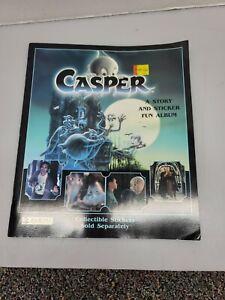 PANINI: 1995 CASPER STICKER ALBUM UNUSED NEW