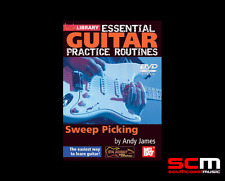Lick Library Essential Guitar Practice Sweep Picking DVD RDR0176