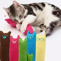Interactive Fancy Catnip Cat Pillow Teeth Grinding Claws For Pet Funny Toys Hot