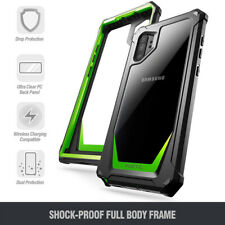 Galaxy Note 10 Plus CasePoetic[Hybrid]ClearTPUBumperShockproofCoverGreen