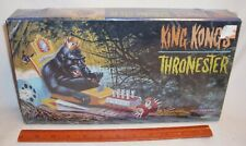 KING KONG THRONESTER MONSTER CAR FIGURE MODEL KIT BOXED SEALED POLAR LIGHTS