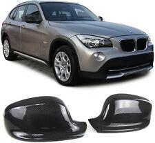 Echt Carbon Spiegelkappen Spiegelcover für BMW X1 E84 09-12 X3 F25 10-14