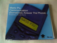 MARIO PIU - COMMICATION (SOMEBODY ANSWER THE PHONE) - DANCE CD SINGLE