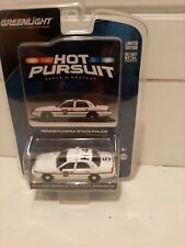1/64 2011 Crown Victoria Police Car Pennsylvania State Police NIP Greenlight