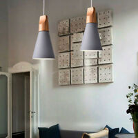 Modern Pendant Light Bedroom Lighting Home Wood Ceiling Lamp Kitchen Bar Lights