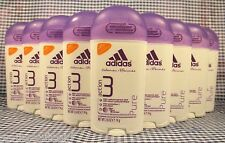 9 deodorant Adidas Action 3 PURE 48 Hours Odor Protection Antiperspirant 2.6 oz