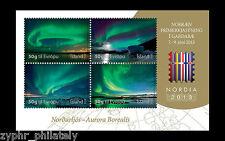 "Iceland - ""AURORA ~ NORTHERN LIGHTS ~ NORDIA 2013"" MNH Mini Sheet MS !"