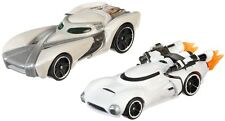 Hot Wheels Star Wars Toy Cars Rey First Order Flametrooper Collectors Item Pack
