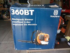 Husqvarna 360BT 65.6cc Gas Backpack Leaf Blower