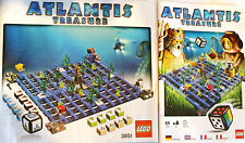 Lego Instructions - Atlantis Game Build Instructions and Rules - 3851 - NOT GAME