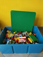 LEGO DUPLO - LOTTO DI MATTONCINI SFUSI E SET VARI - 5 KILI -  + BASE ORIGINALE